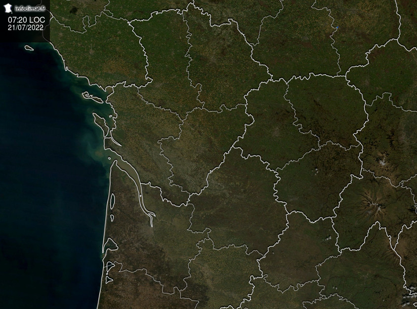 Suivi des pluies en Aquitaine