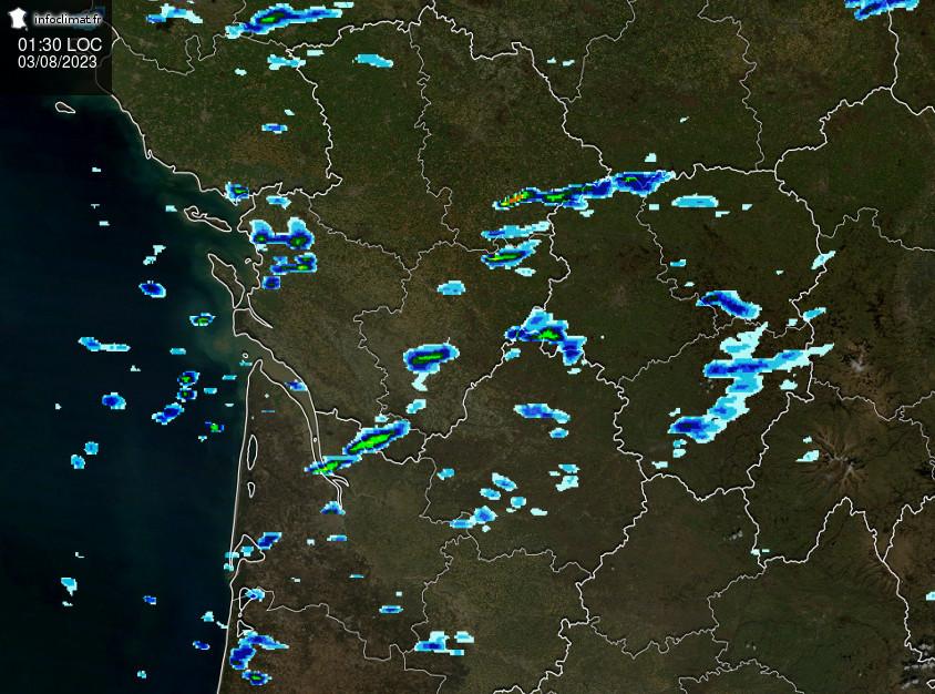 image radar France