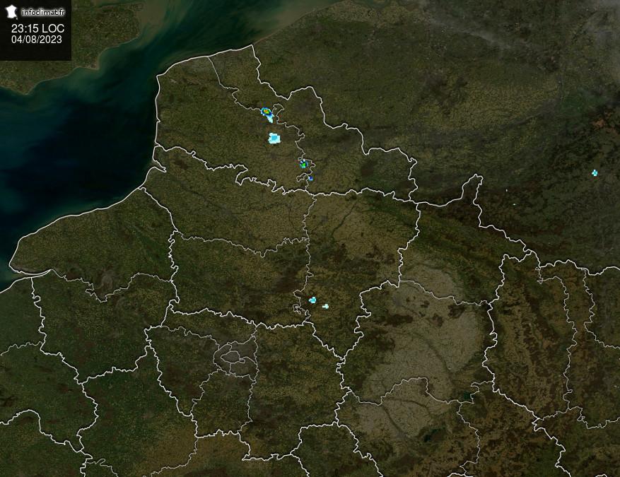 Suivi des pluies sur le Nord-Pas-de-Calais