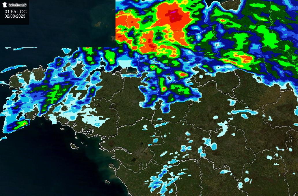 Suivi des pluies en Haute-Normandie