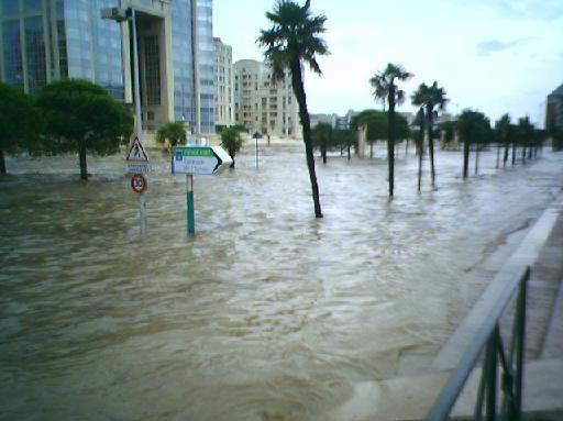 Inondation montpellier photolive toutes les photos m t o en temps r el infoclimat - Meteo agricole montpellier ...