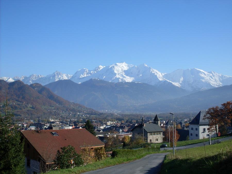 journ 233 e d automne 224 sallanches avec le mont blanc photolive toutes les photos m 233 t 233 o en temps