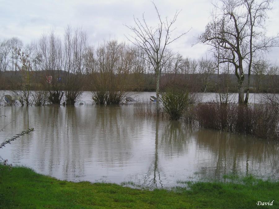 la Saône déborde
