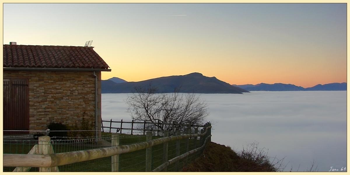 La mer, en pays basque intérieur!