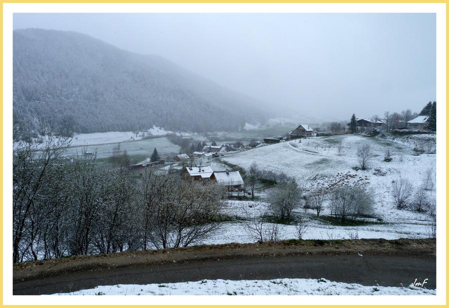 retour de la neige