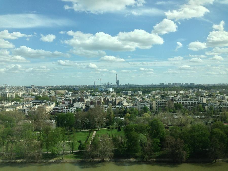 Neuilly et Paris depuis la Défense