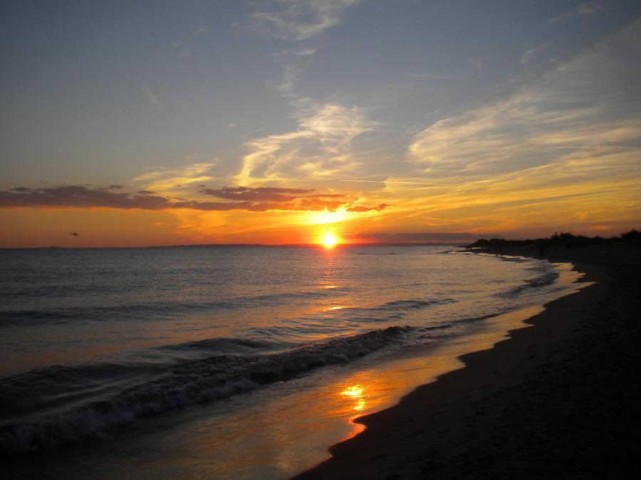 Coucher de soleil de fin d 39 t photolive toutes les - Les plus beaux coucher de soleil sur la mer ...