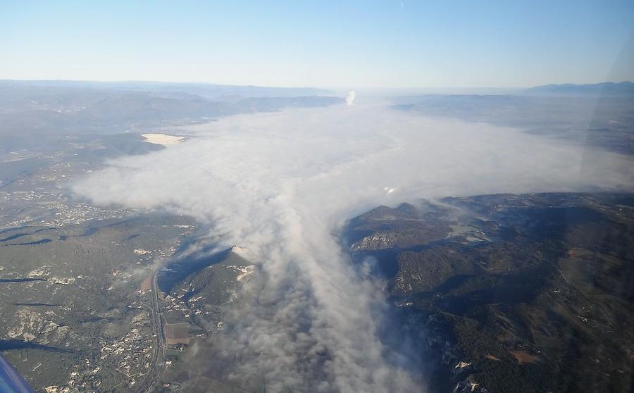 Plaine de montelimar dans le brouillard photolive - La chaine meteo montelimar ...