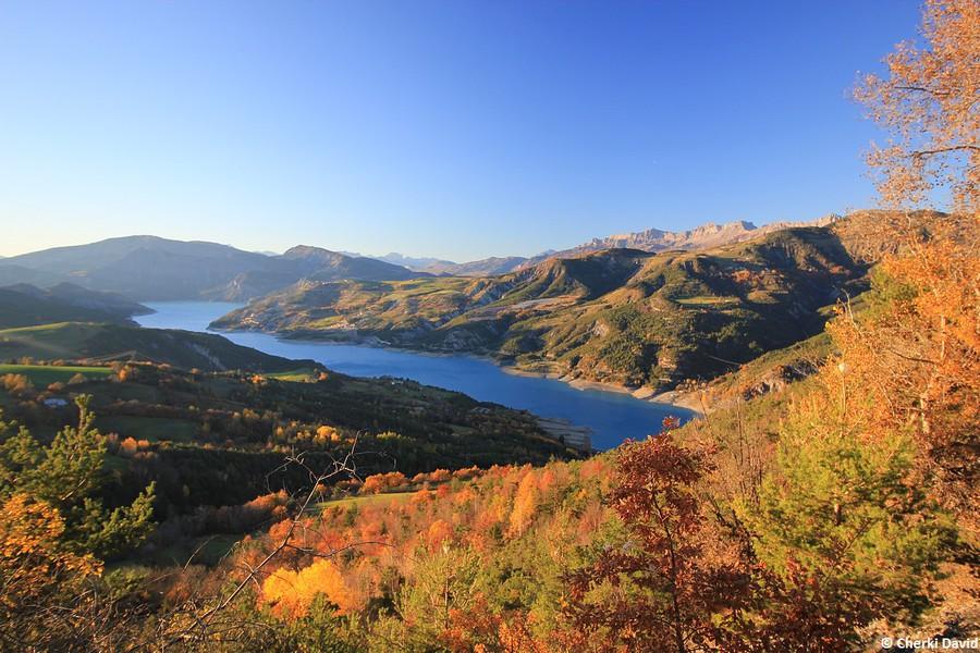 Lac Serre Poncon : Lautomne au lac de serre ponçon photolive toutes les photos