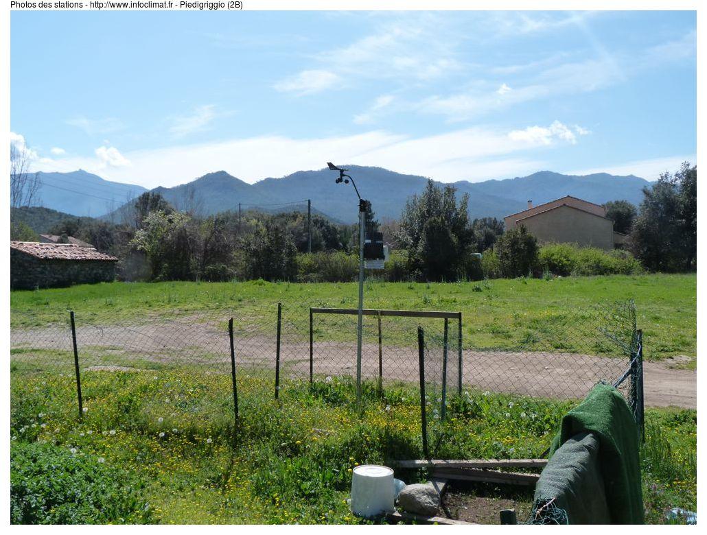 Carte Radar Corse.Piedigriggio Haute Corse France Releves Meteo En Temps Reel